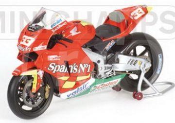 1:12 HONDA RC 211V MELANDRI FORTUNA MOTO GP 2006