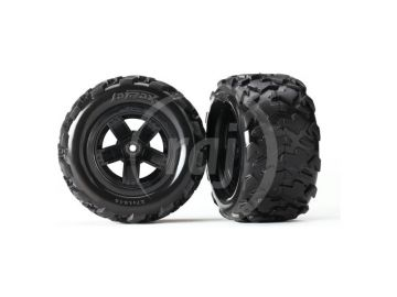 VÝPREDAJ - Traxxas kolo, disk 5-spoke, pneu Teton (2)